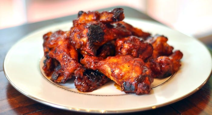 Spicy Maple Bourbon Wings