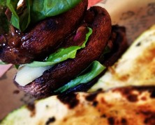 Veggie Blast Week, Part 2: Grilled Portobello Stacks