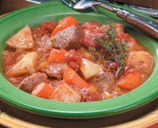 Slow Cooker Chuck Roast and Root Vegetables