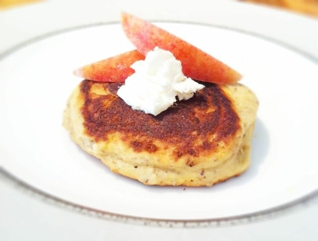Gluten-Free Cream Cheese Pancakes