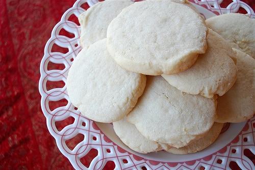 Crisp White Sugar Cookies