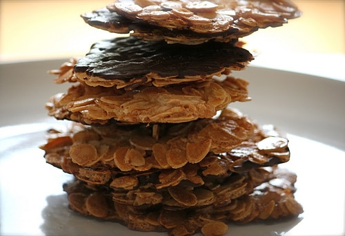 Orange Chocolate Delights (aka Florentines)
