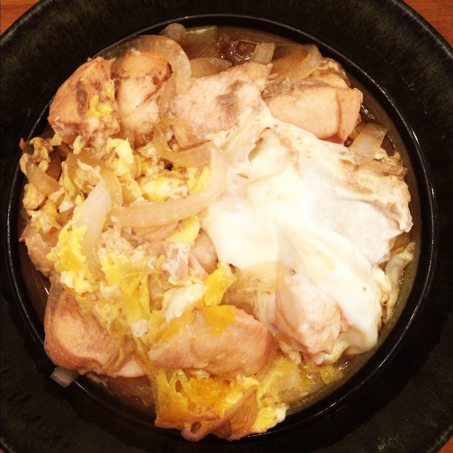 Oyako Bowl and Ginger Dressing